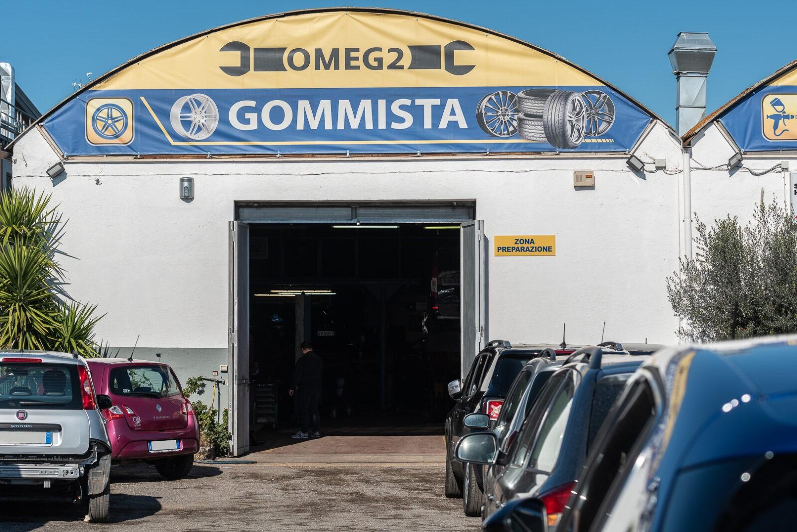 Gommista pneumatici Roma Cinecittà